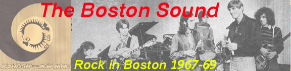 Boston Rock from 1967 to 1969